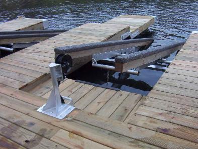 Custom Boat Docks